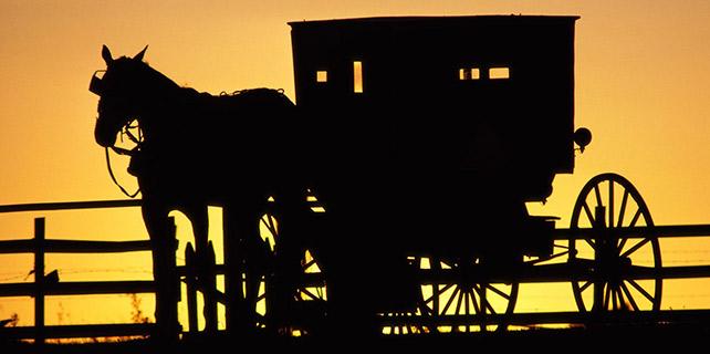 Amish horse & buggy shunning
